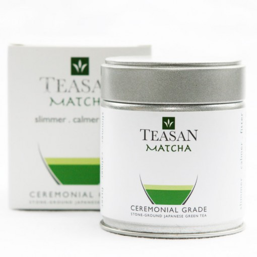 teasan ceremonial matcha 40g can